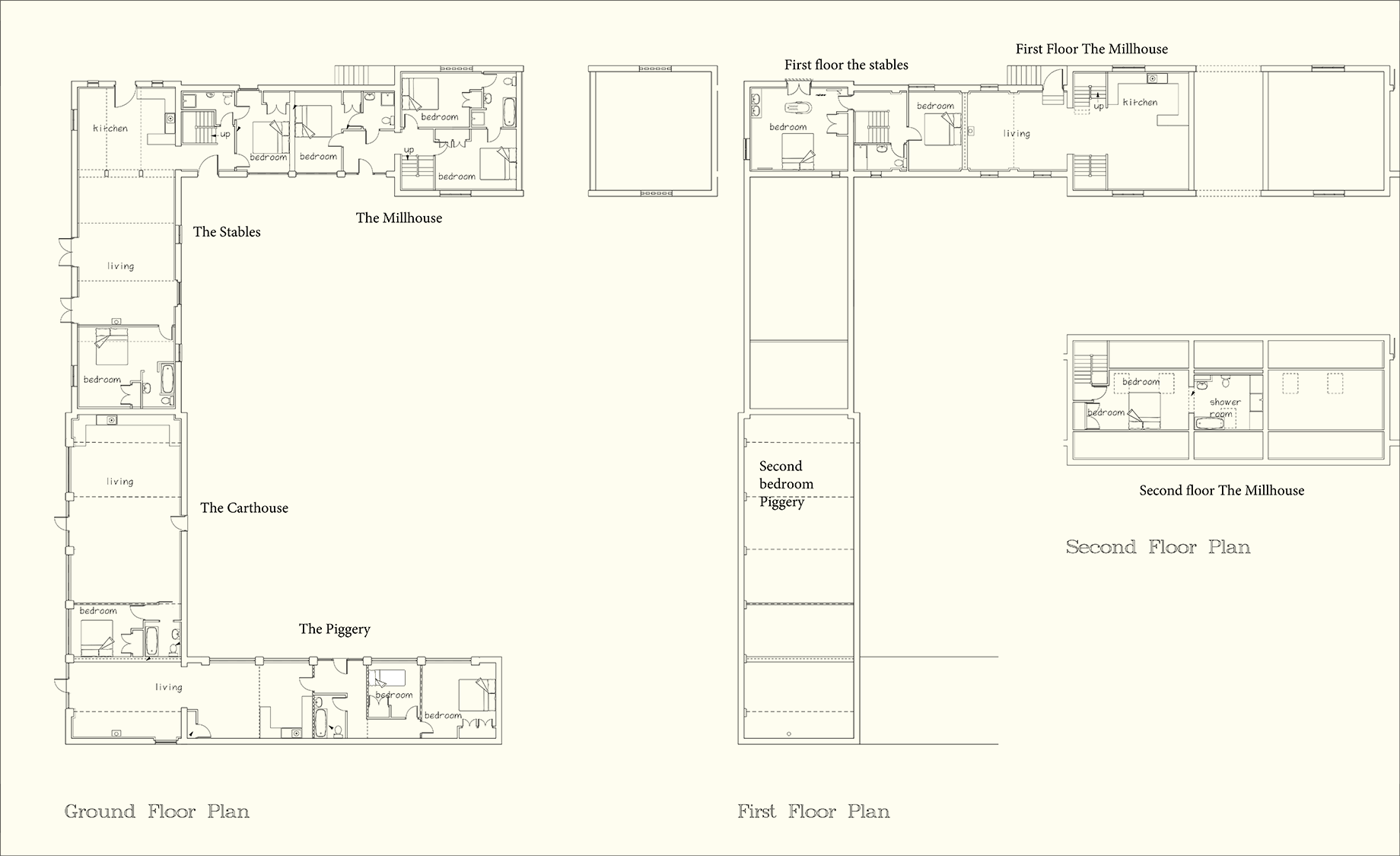 The Millhouse Floorplan